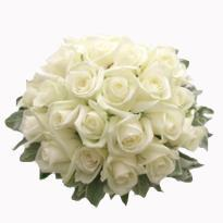 Bunch of White Roses as epitome of 'Promise of Love