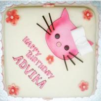 Hello Kitty (Vanilla) Cake