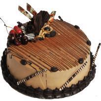 Chef Baker's Hazelnut Cappuchino Cake( Eggless)